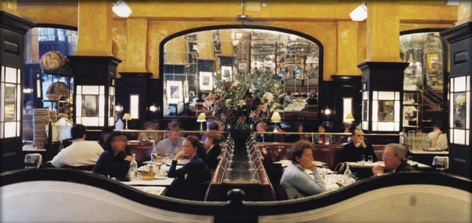 Balthazar Restaurant, NYC 1997