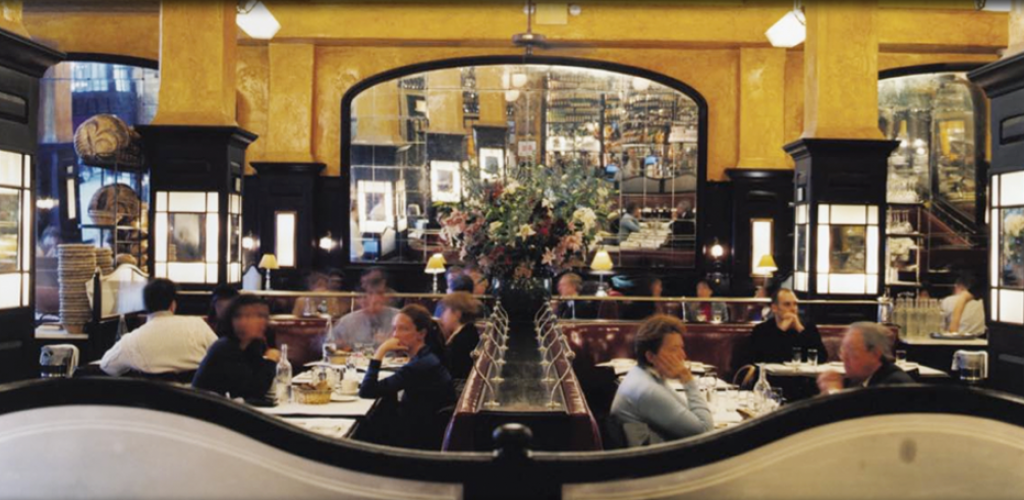 Balthazar Restaurant, NYC 1997